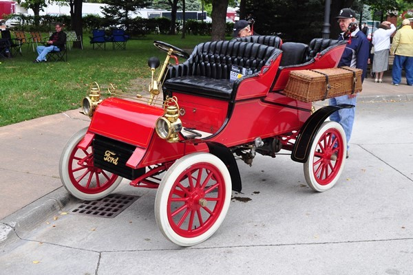 1903 Ford Model A Detachable Tonneau