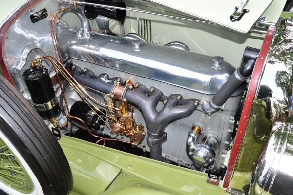 1923 Duesenberg A John Bools straight 8 engine