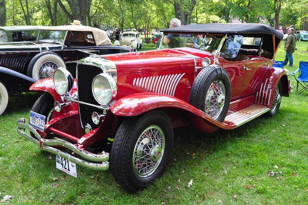 1929 Duesenberg J Dual Cowl Phaeton Tony Ficco