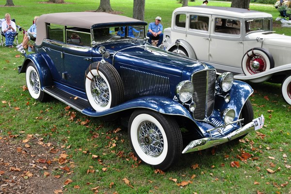 1933 Auburn 12-165 Salon Phaeton