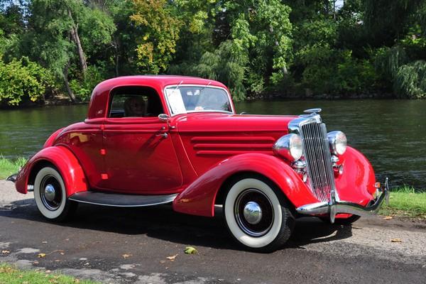 1935 Hupmobile 517W Coupe Glenn Coffey