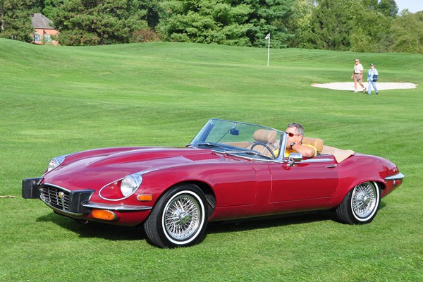 1974 Jaguar E-Type V12 roadster
