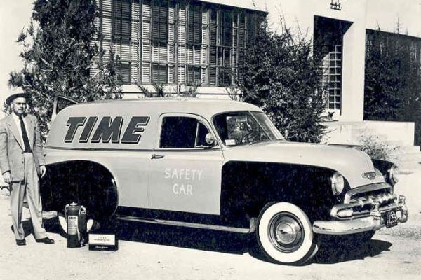 1952 Chevrolet Sedan Delivery Time Lines
