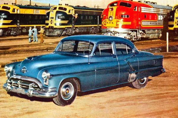 1952 Oldsmobile 98 4 Door Sedan