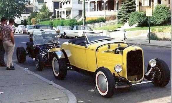 1930-31 Ford Model A roadster