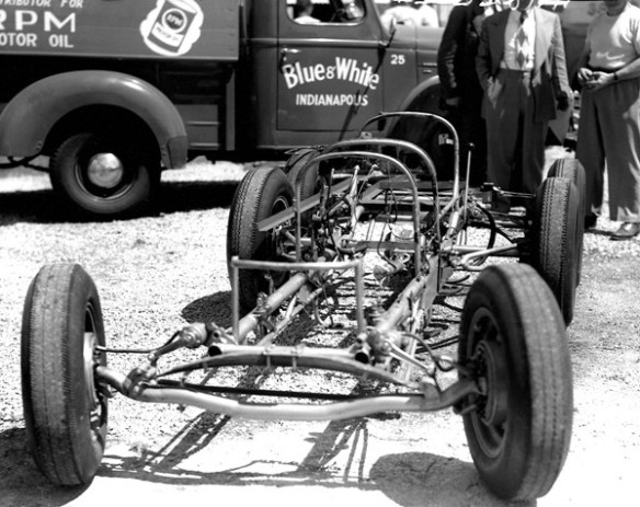 Clancy chassis front