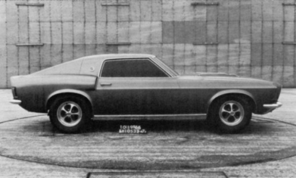 Mustang two-seater 10-19-1966