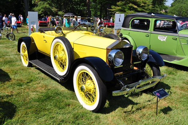1921 Roamer 4-75 Roadster Gilmore Car Museum