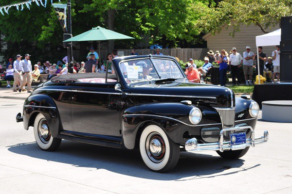 1941 Ford Super DeLuxe Convertible Larry Wolohon