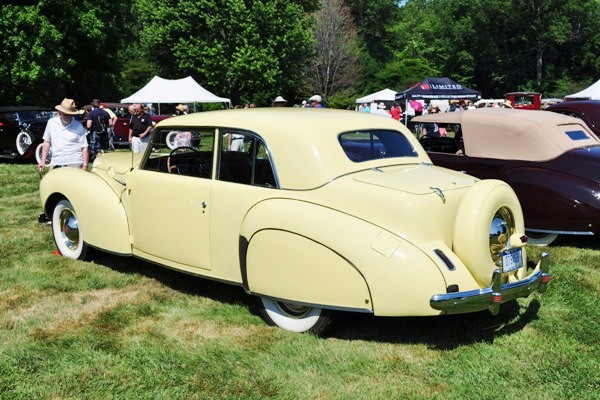 1941 Lincoln Continental Jim Weinzierl