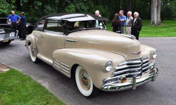 1947 Chevrolet two-door Gary Klindt