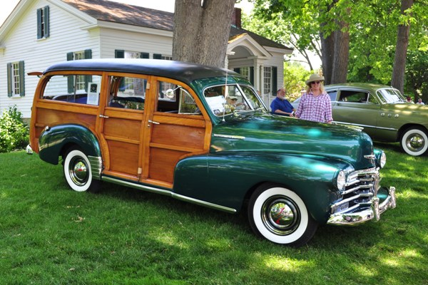 1948 Chevrolet Fleetmaster Station Wagon Jim and Dorothy Bartish