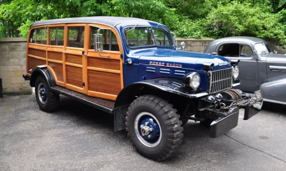 1950 Dodge Power Wagon Mark and Leondia Walchie
