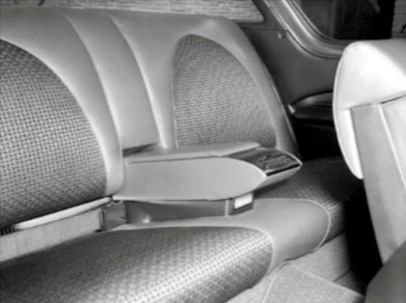 Rear seat 1956 Corvette Impala 600