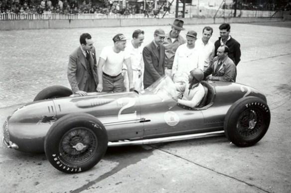 1946 Novi Ralph Hepburn and crew
