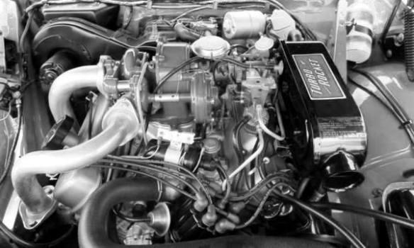 1962 Jetfire engine bay