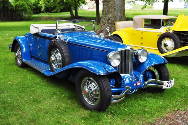 1931 Cord L-29 Cabriolet Mike & Joan Huffman