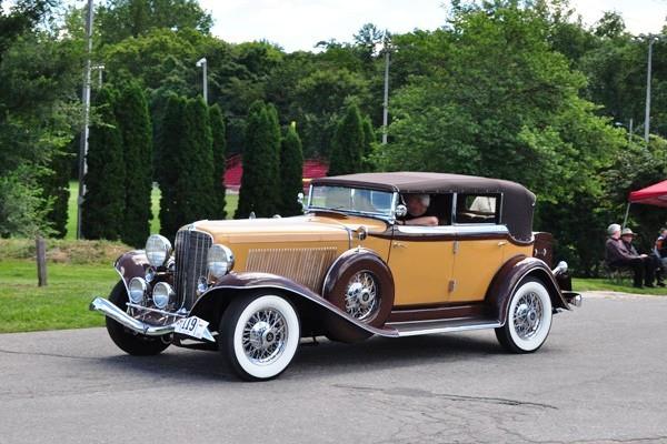 1933 Auburn 12-165 Salon Phaeton Fred Pratt