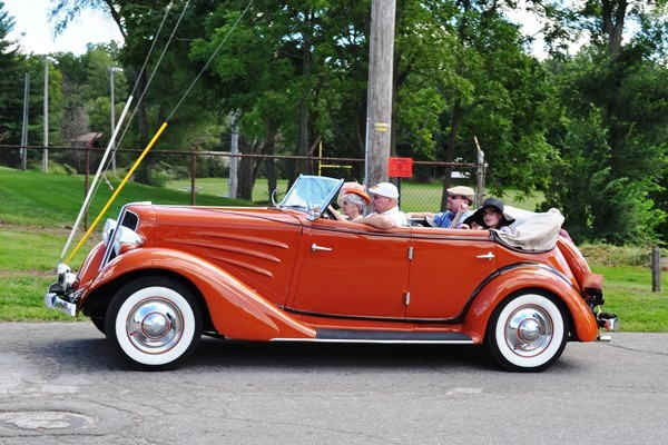 1934 Auburn 652Y Phaeton Leroy and Bonnie Gorsuch