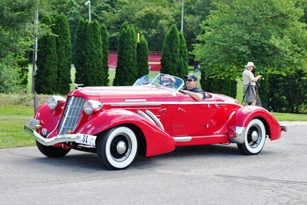 1935 Auburn 853 Speedster Keith Zetler