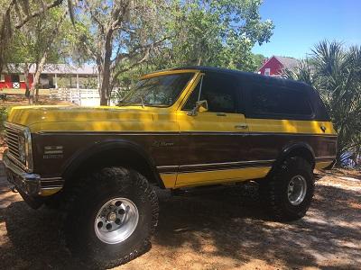 1971 Chevy K5 Blazer Big Block