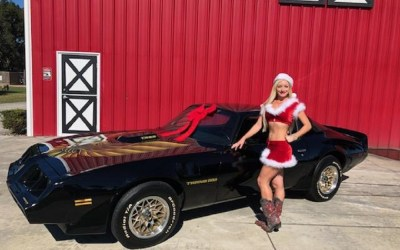 1979 Black and Gold Trans Am