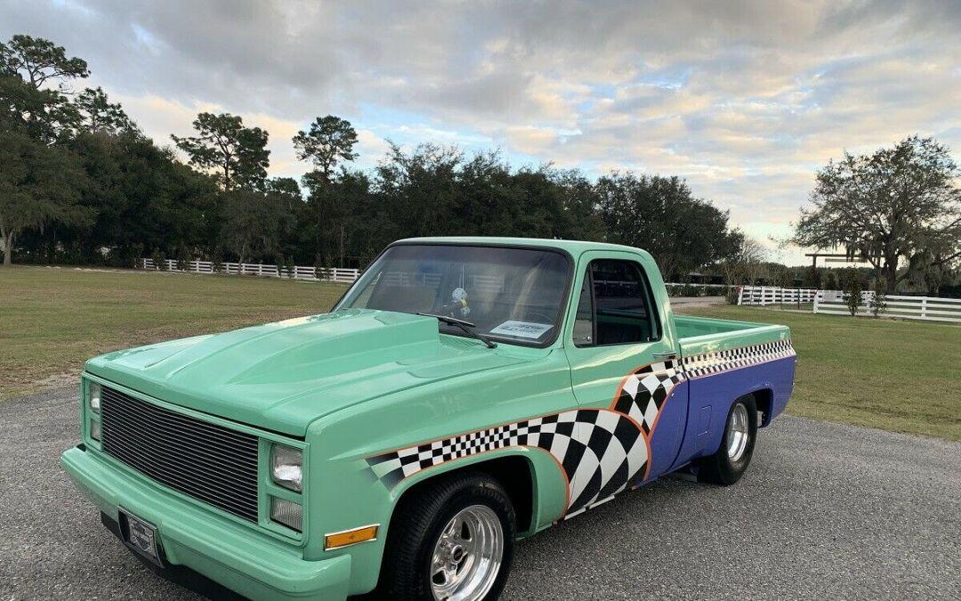 1986 Chevrolet C10 Pro Street Pickup Truck 650 HP $20500