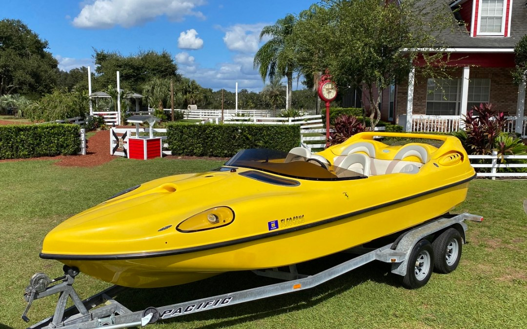 2002 Ferrari Speed Boat