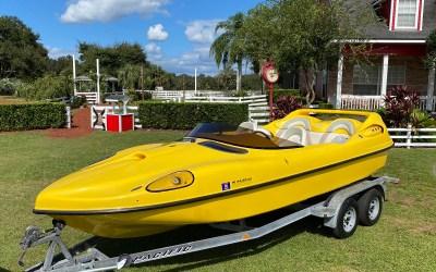2002 Ferrari Speed Boat