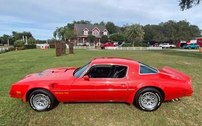 1977 Pontiac Trans Am Buccaneer Red $29500