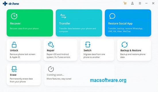 Dr.Fone 10.7.2 Crack With Registration Key 2020 Full Free Download