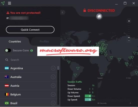 ProtonVPN 1.9.2 Crack With License Key Free Download