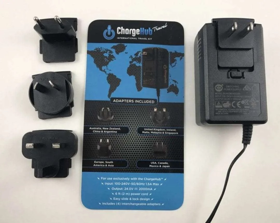 ChargeHub Universal Travel Case and International Travel Kit REVIEW