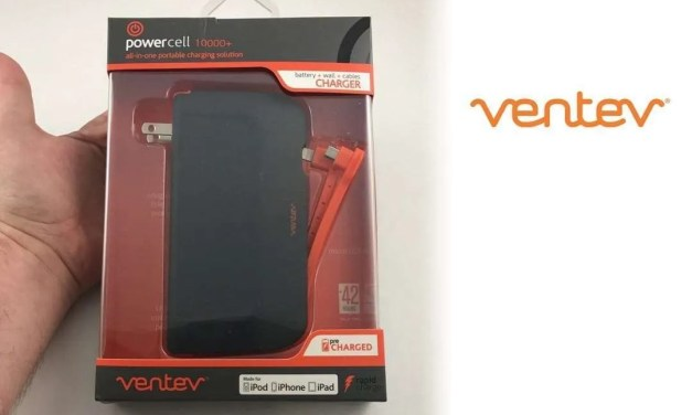 Ventev Powercell 10000+ Battery Charger REVIEW Provides power while on the go