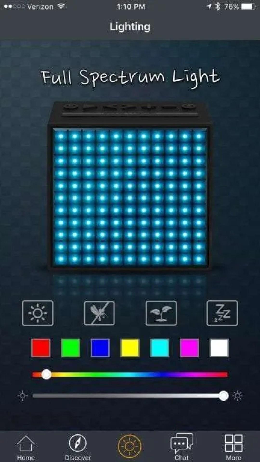 Divoom TimeBox Programmable Pixel Art Speaker