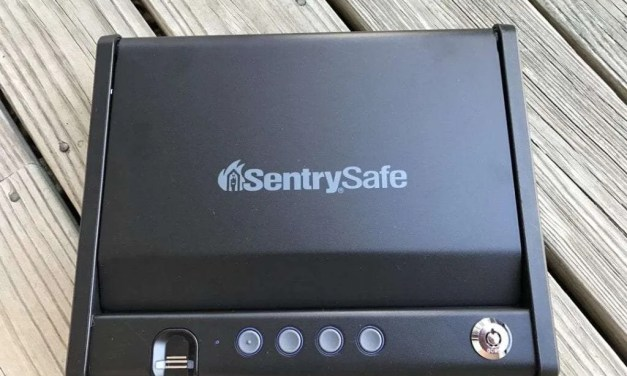 Sentry Safe Quick Access Pistol Safe REVIEW