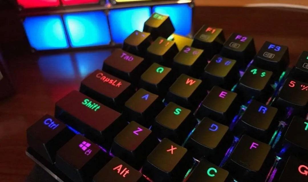 Redragon K556 RGB LED Backlit Mechanical Keyboard REVIEW