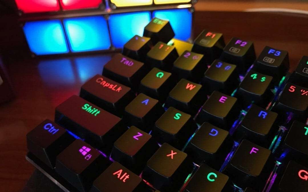 how to change led in mechanical keyboard