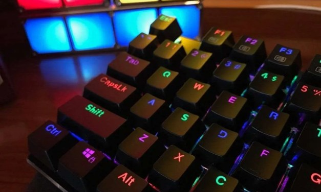 Redragon K556 RGB LED Backlit Mechanical Keyboard REVIEW