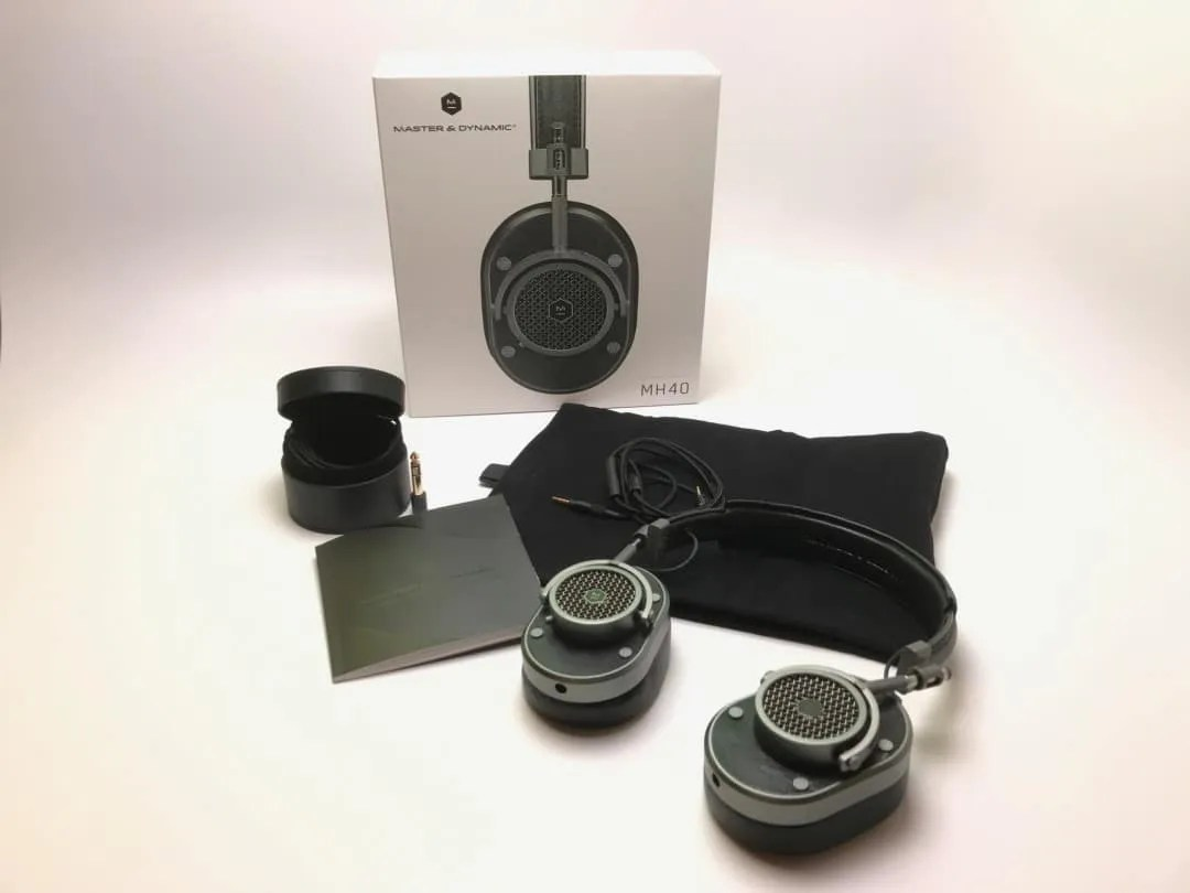 Master and Dynamic MH40 Over-Ear Headphones