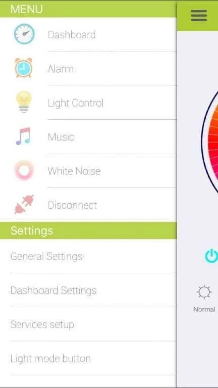 WITTI Beddi Style Intelligent Alarm Clock