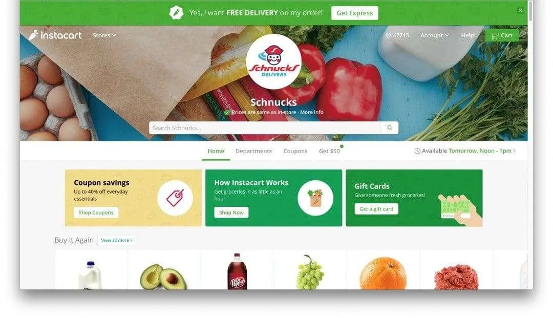 Instacart Grocery Delivery REVIEW | Mac Sources