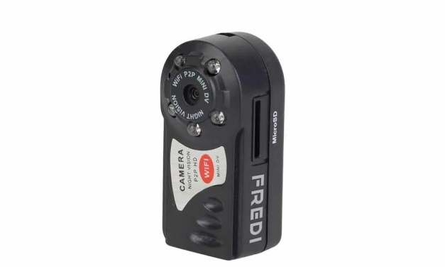 Fredi WiFi Camera REVIEW Pocket sized recorder.