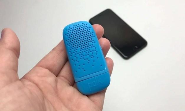 Polk Audio Bit Wearable Bluetooth Speaker REVIEW