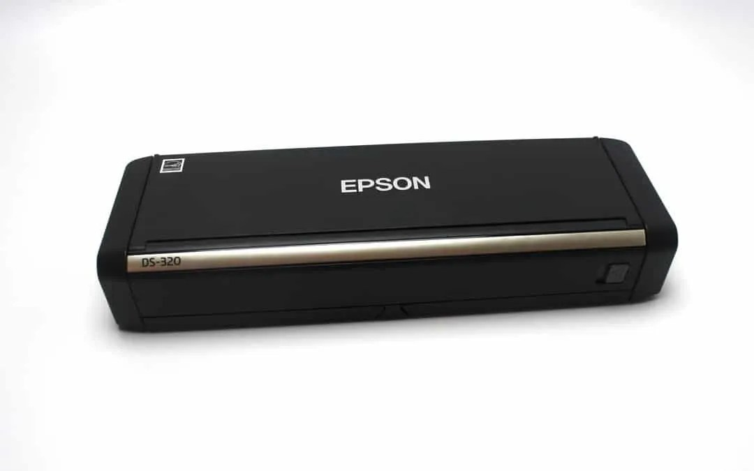 Epson DS-320 Mobile Scanner REVIEW | Mac Sources