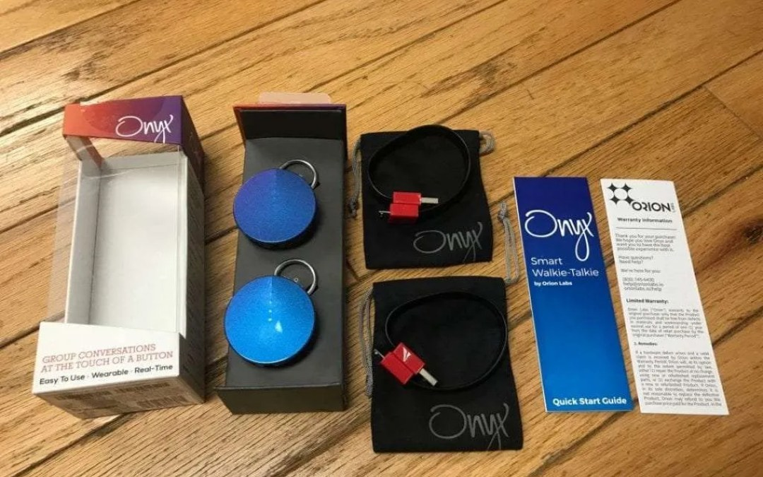 Onyx Smart Walkie-Talkie REVIEW Turn your smartphone into a push-to-talk device.