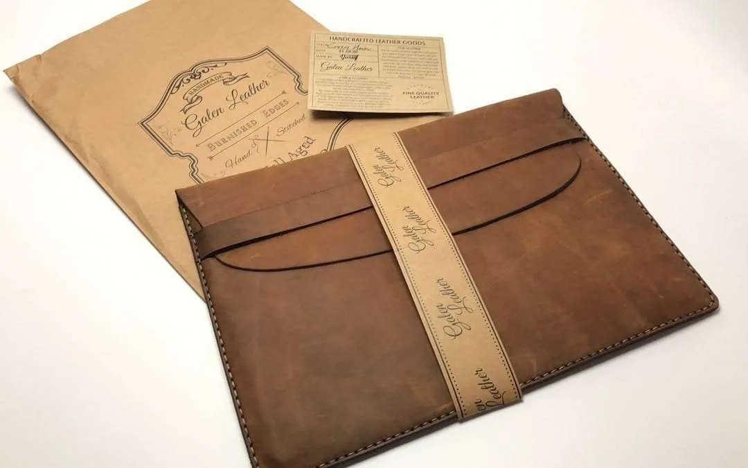 237f531158a Galen Leather MacBook Sleeve REVIEW