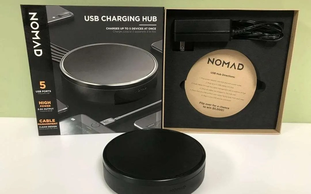 "Nomad USB Charging Hub REVIEW ""Clean Organized Power"""