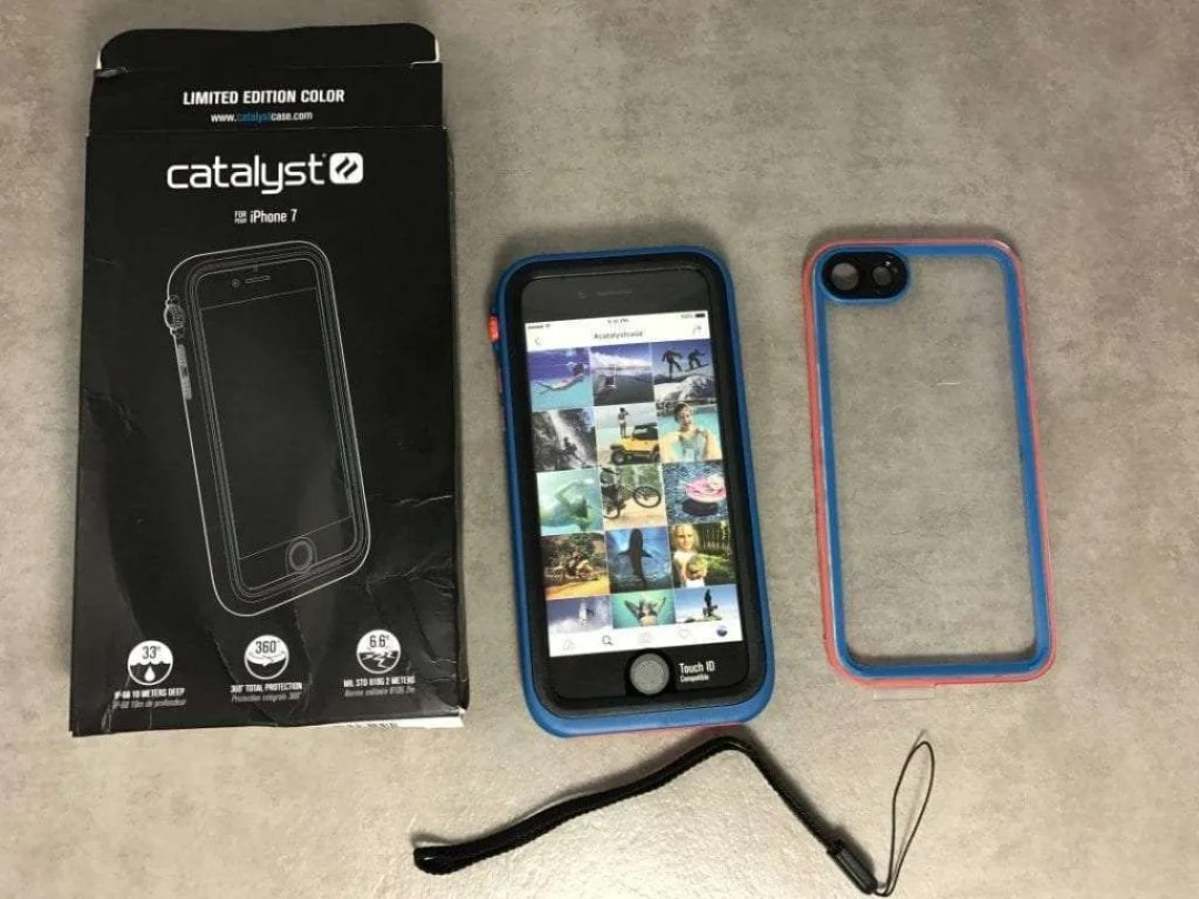 sports shoes a9ec8 5dd22 Catalyst Case for iPhone 7 REVIEW Waterproof and Protective. | Mac ...