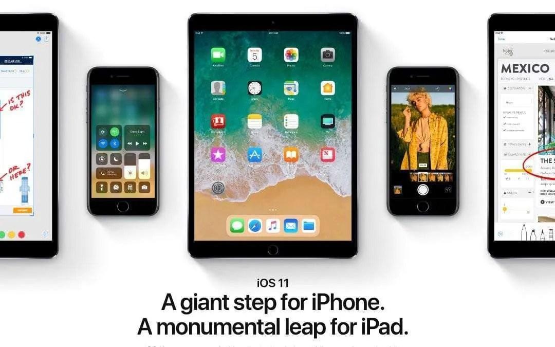 Apple Releases iOS 11 Developer Beta Update NEWS